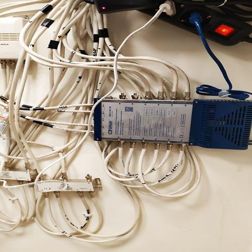 Συστήματα διανομής Επίγειας και Δορυφορικής Λήψης στο Ραδιοφωνικό Σταθμό της Μητρόπολης Πειραία